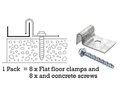 Storite - Flat-Floor-Clamps